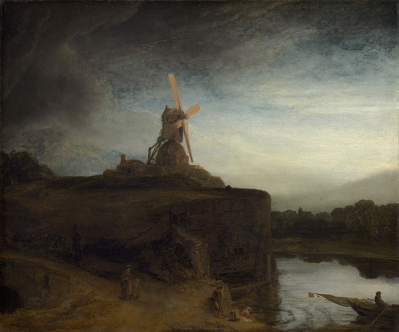 Rembrandt van Rijn - The Mill. National Gallery of Art (Washington)