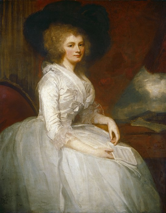 George Romney - Mrs. Alexander Blair. National Gallery of Art (Washington)