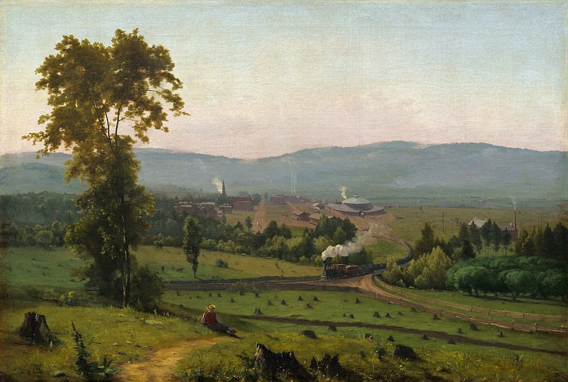 George Inness - The Lackawanna Valley. National Gallery of Art (Washington)