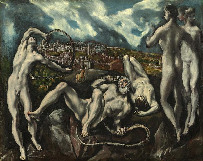 El Greco (Domenikos Theotokopoulos) - Laocoon. National Gallery of Art (Washington)
