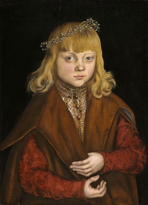 Кранах, Лукас I - Принц Саксонский. Национальная галерея искусств (Вашингтон)
