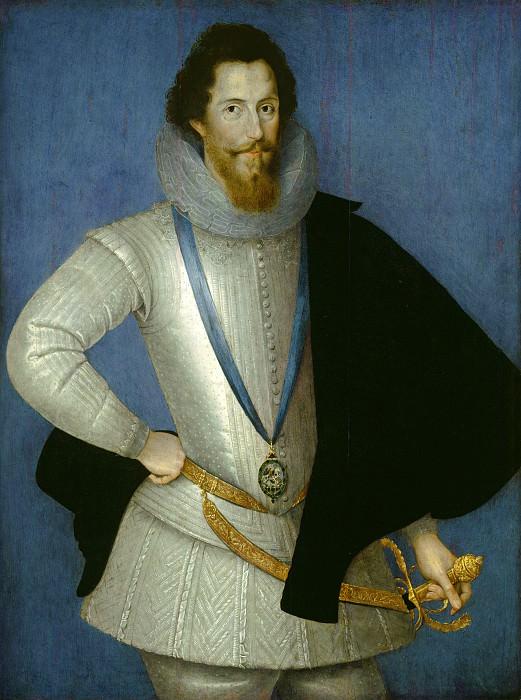 Studio of Marcus Gheeraerts, the Younger - Robert Devereux, 2nd Earl of Essex. National Gallery of Art (Washington)