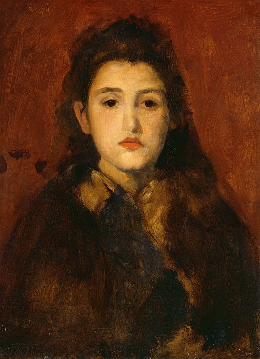 James McNeill Whistler - Alice Butt. National Gallery of Art (Washington)