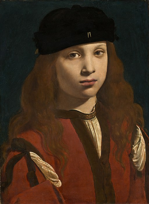 Giovanni Antonio Boltraffio - Portrait of a Youth. National Gallery of Art (Washington)