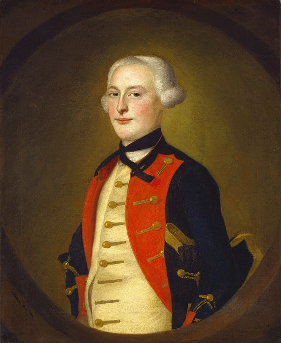 Joseph Blackburn - A Military Officer. National Gallery of Art (Washington)