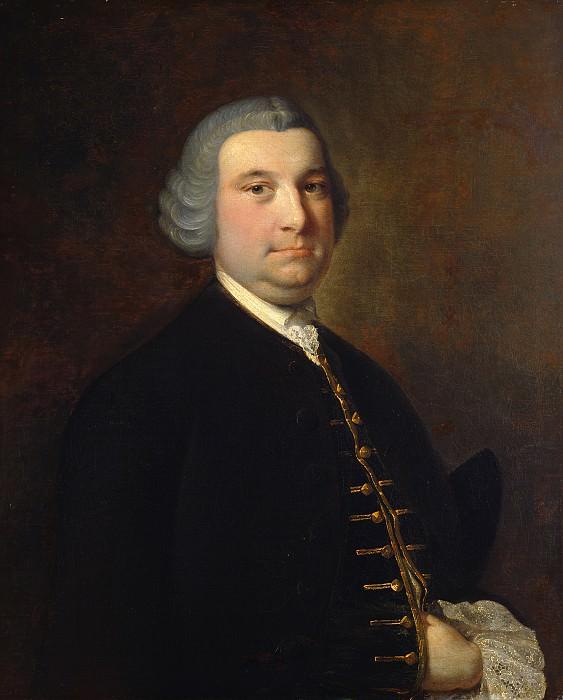 Райт, Джозеф - Мужской портрет. Национальная галерея искусств (Вашингтон)