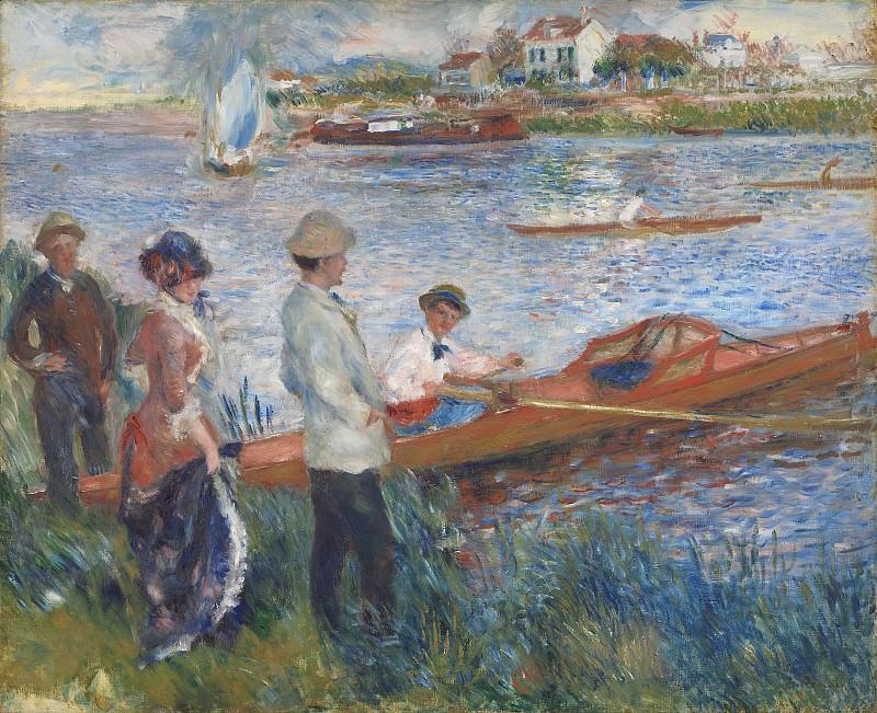 Auguste Renoir - Oarsmen at Chatou. National Gallery of Art (Washington)