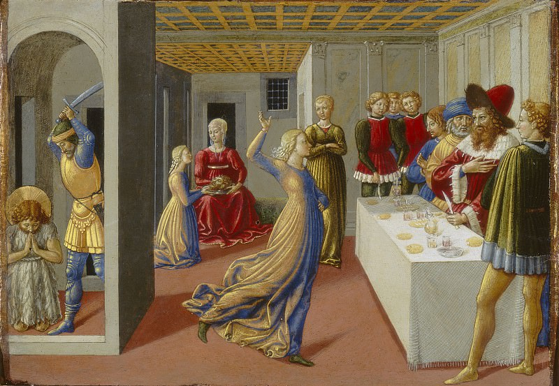Benozzo Gozzoli - The Feast of Herod and the Beheading of Saint John the Baptist. National Gallery of Art (Washington)