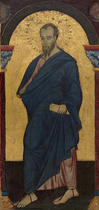 Master of Saint Francis - Saint James Minor. National Gallery of Art (Washington)