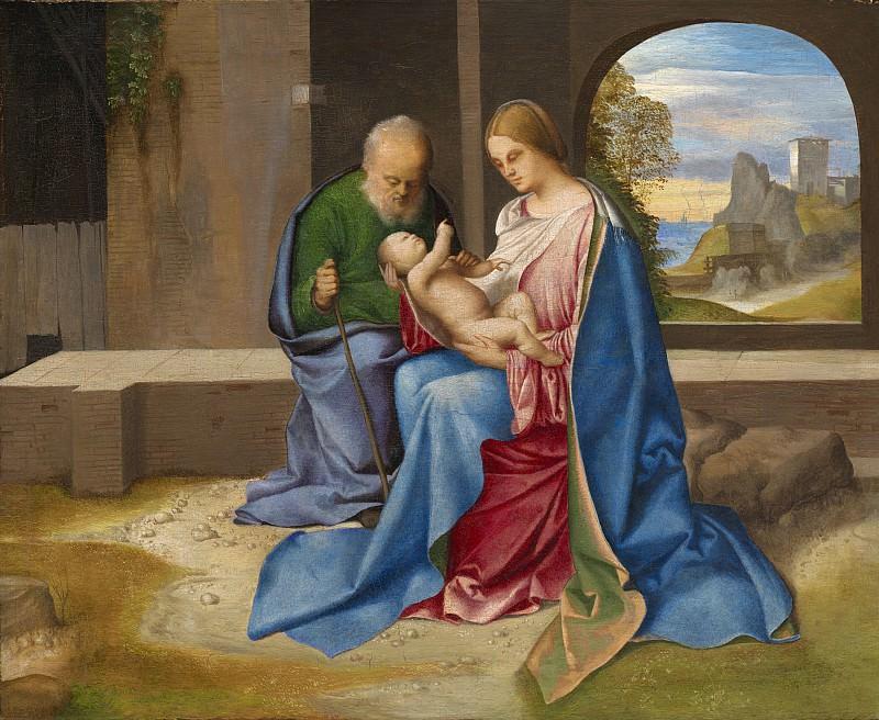 Giorgione - The Holy Family. National Gallery of Art (Washington)