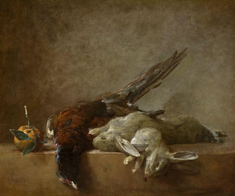 Jean Simeon Chardin - Still Life with Game. National Gallery of Art (Washington)