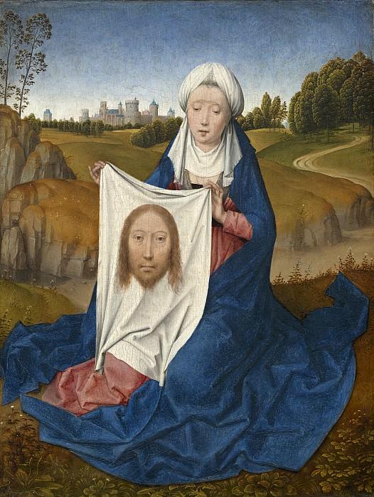 Hans Memling - Saint Veronica. National Gallery of Art (Washington) (obverse)