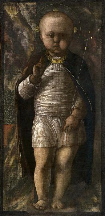 Andrea Mantegna - The Infant Savior. National Gallery of Art (Washington)