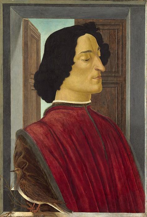 Боттичелли, Сандро - Джулиано Медичи. Национальная галерея искусств (Вашингтон)