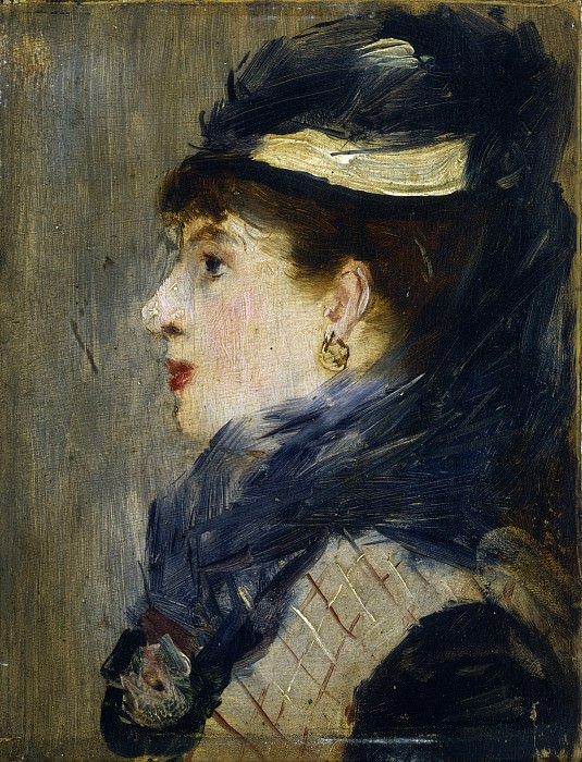 Edouard Manet - Portrait of a Lady. National Gallery of Art (Washington)