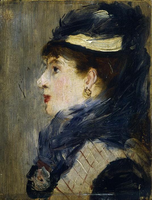 Portrait of a Lady. Édouard Manet