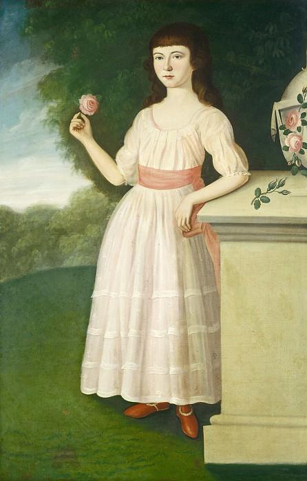 Полк, Чарльз Пил - Анна Мария Кампстон. Национальная галерея искусств (Вашингтон)