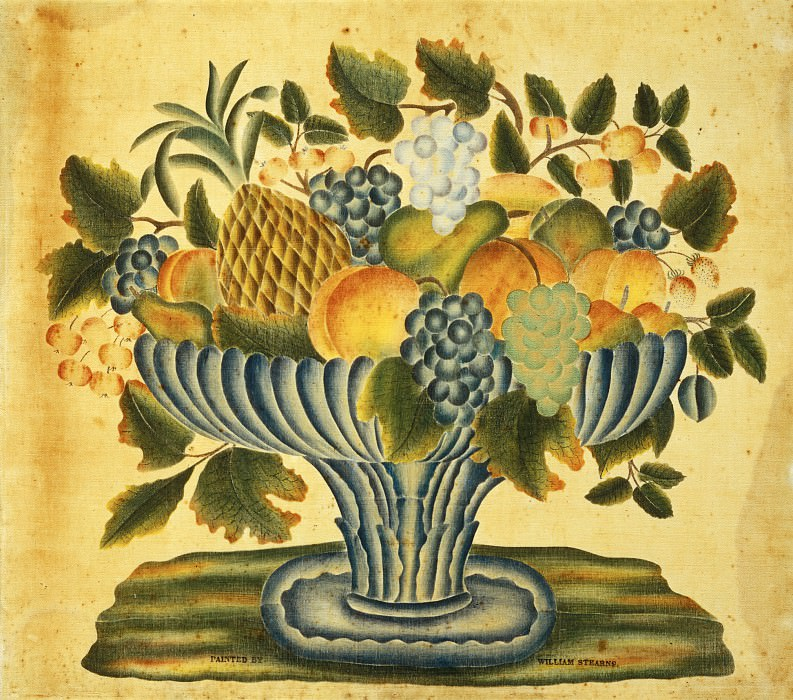 William Stearns - Bowl of Fruit. National Gallery of Art (Washington)