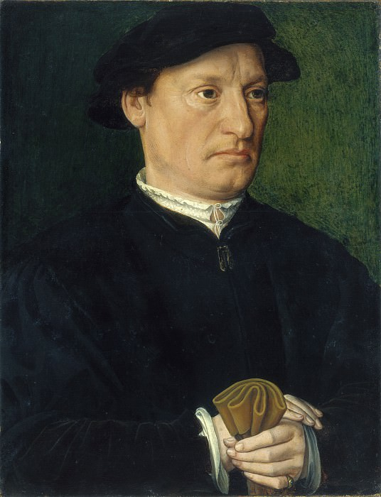 Antwerp 16th Century - A Member of the de Hondecoeter Family. National Gallery of Art (Washington) (obverse)