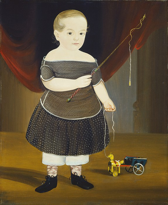 William Matthew Prior - Boy with Toy Horse and Wagon. National Gallery of Art (Washington)