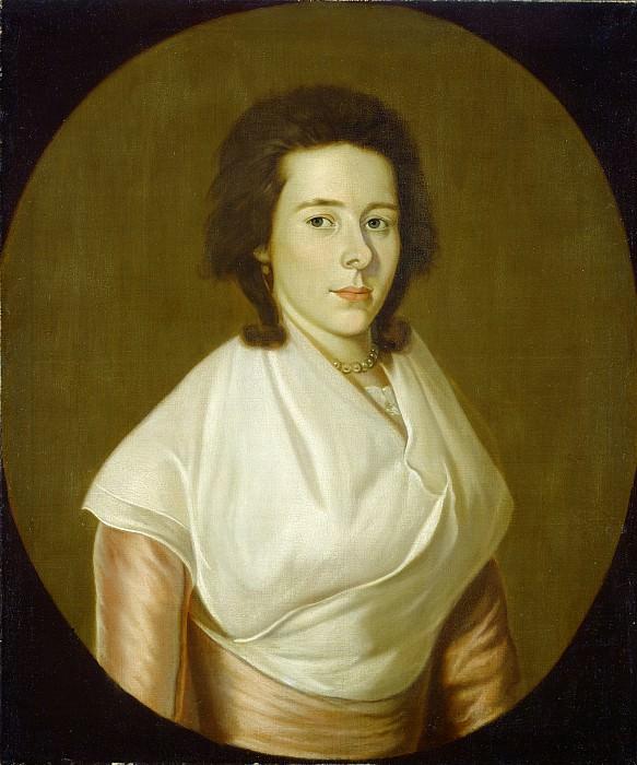 William Jennys - Mrs. Asa Benjamin. National Gallery of Art (Washington)