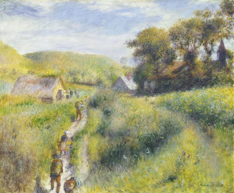 Auguste Renoir - The Vintagers. National Gallery of Art (Washington)