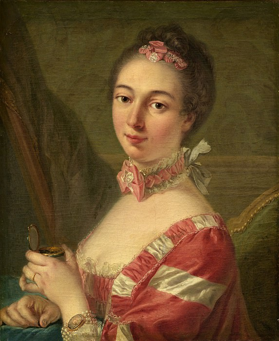 Follower of Louis Michel Van Loo - Portrait of a Lady. National Gallery of Art (Washington)