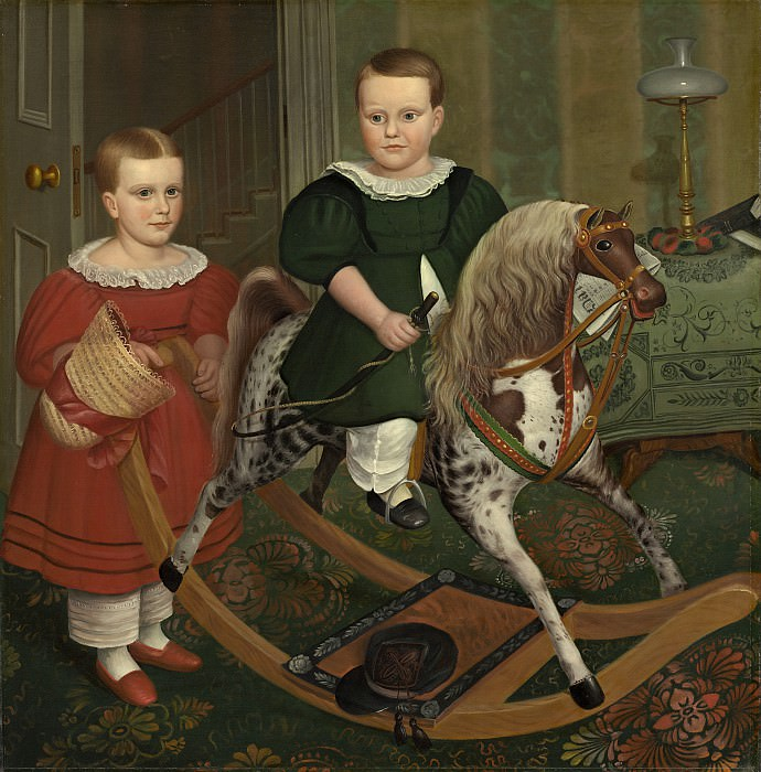 Robert Peckham - The Hobby Horse. National Gallery of Art (Washington)