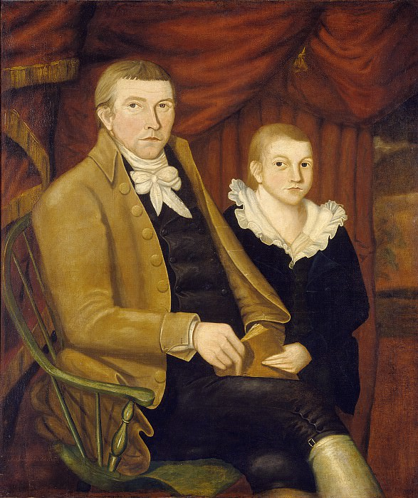 Jonathan Budington - Father and Son. National Gallery of Art (Washington)