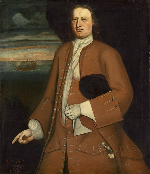 The Schuyler Limner (Possibly Nehemiah Partridge) - Mr. Willson. National Gallery of Art (Washington)