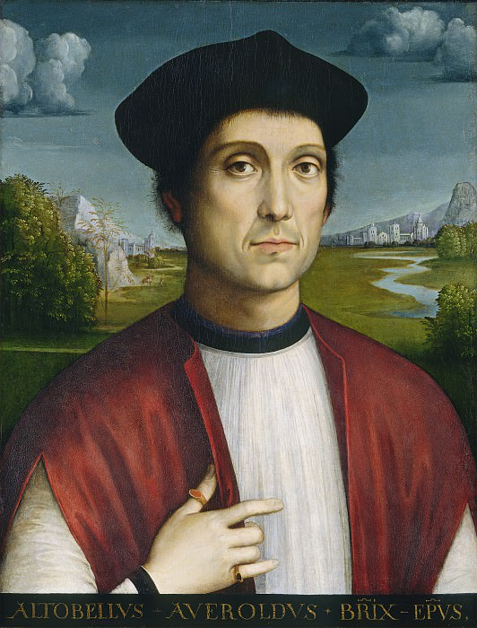 Francesco Francia - Bishop Altobello Averoldo. National Gallery of Art (Washington)
