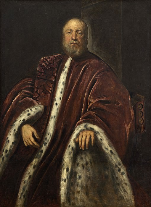Jacopo Tintoretto - A Procurator of Saint Mark's. National Gallery of Art (Washington)