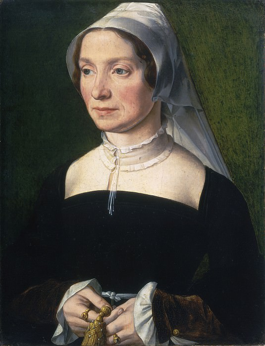 Antwerp 16th Century - Wife of a Member of the de Hondecoeter Family. National Gallery of Art (Washington)