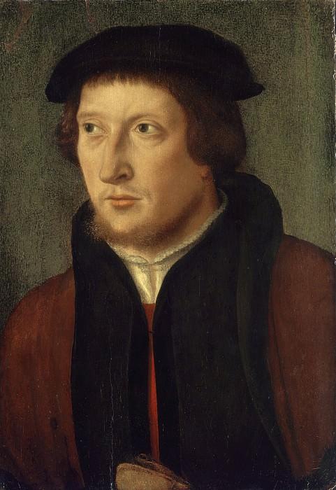 Брейн, Бартоломеус I (Приписывается) - Мужской портрет. Национальная галерея искусств (Вашингтон)