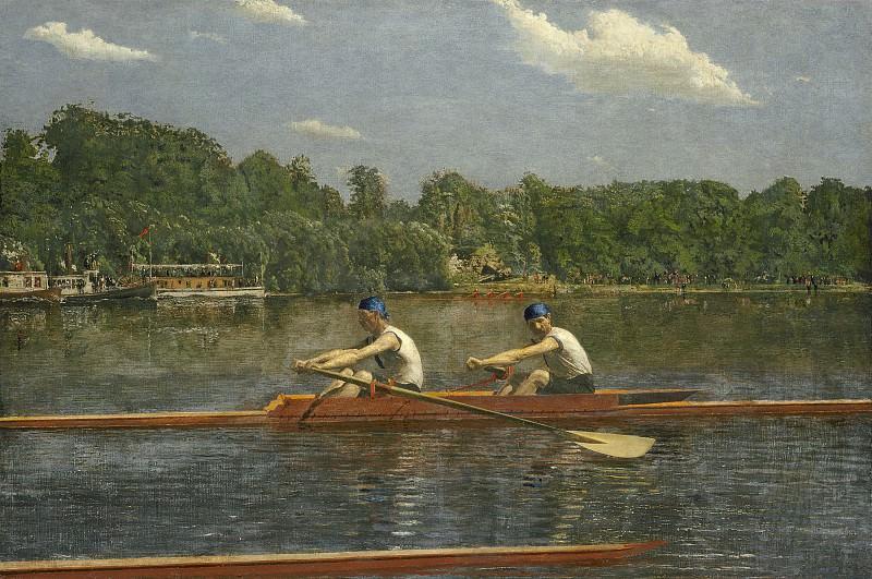 Thomas Eakins - The Biglin Brothers Racing. National Gallery of Art (Washington)