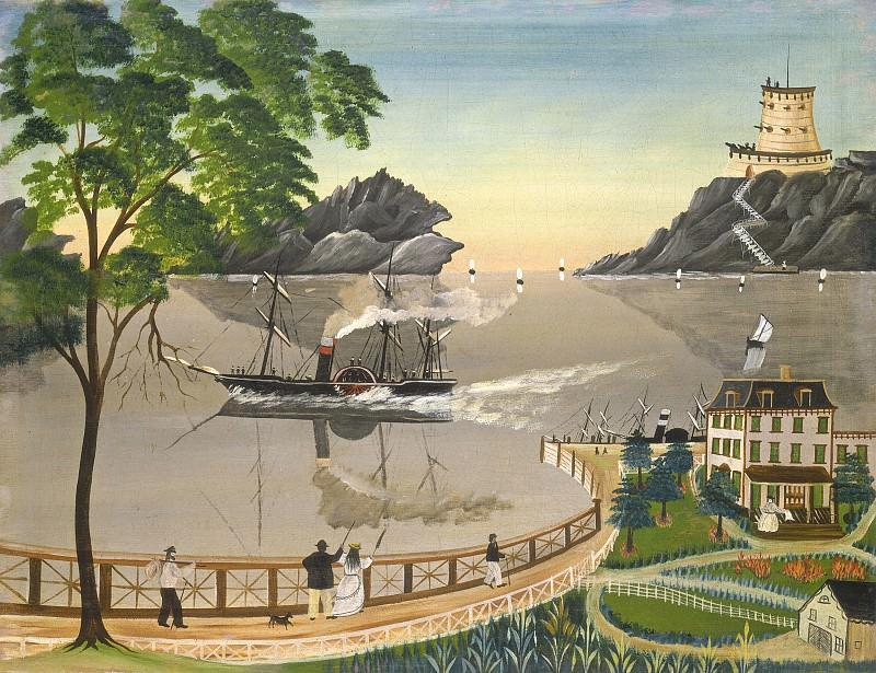 Бауман, Лейла - Почтовый корабль. Национальная галерея искусств (Вашингтон)