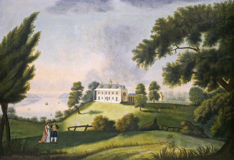George Ropes - Mount Vernon. National Gallery of Art (Washington)