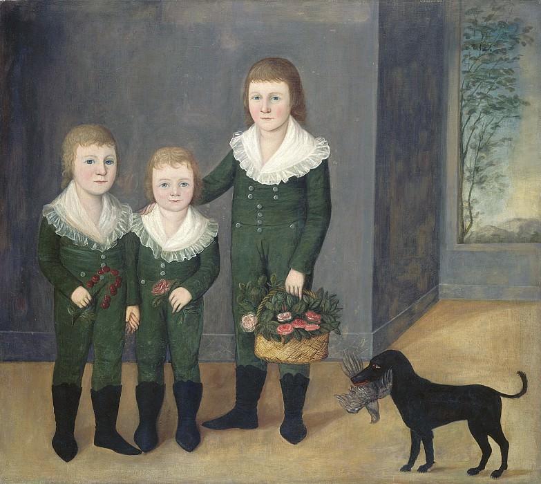 Joshua Johnson - The Westwood Children. National Gallery of Art (Washington)