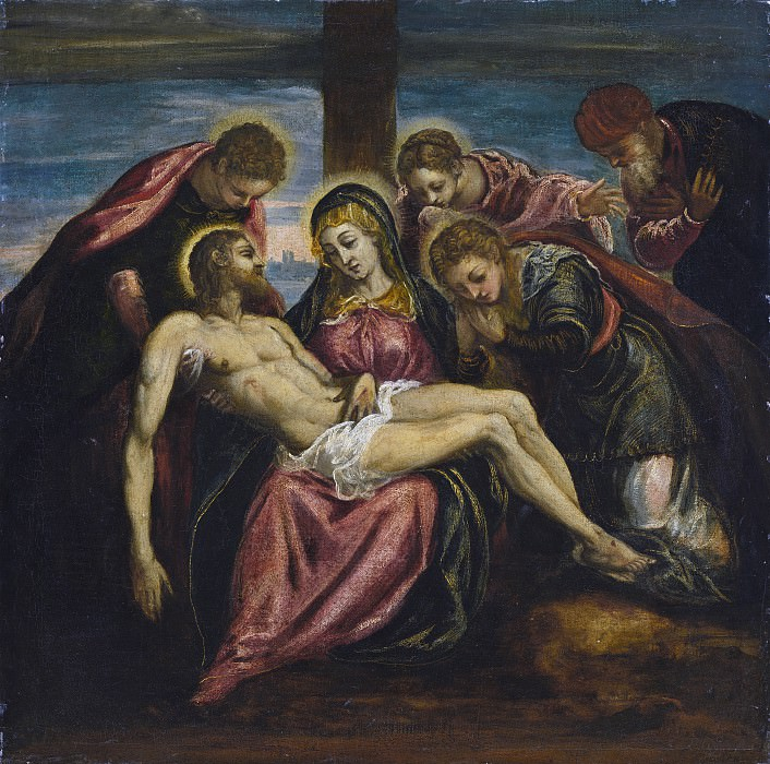 Marco Tintoretto - Lamentation. National Gallery of Art (Washington)