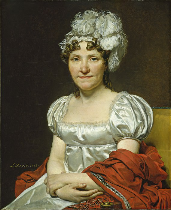 Madame David. Jacques-Louis David