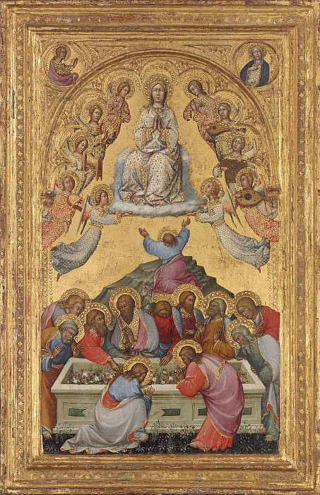 Paolo di Giovanni Fei - The Assumption of the Virgin. National Gallery of Art (Washington)