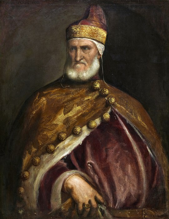 Titian - Doge Andrea Gritti. National Gallery of Art (Washington)
