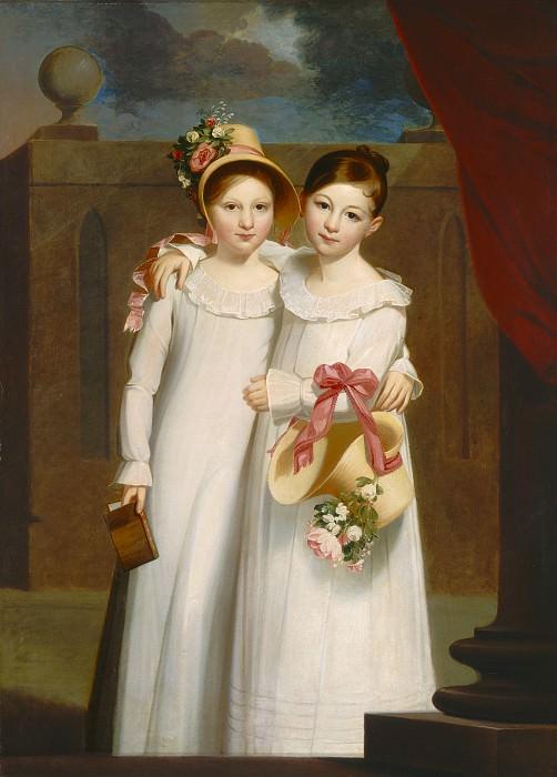 Jacob Eichholtz - The Ragan Sisters. National Gallery of Art (Washington)