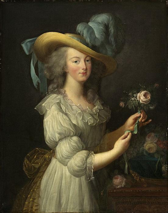 Виже-Лебрен, Элизабет-Луиза (копия) - Мария-Антуанетта. Национальная галерея искусств (Вашингтон)