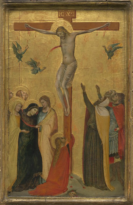 Attributed to Bernardo Daddi - The Crucifixion. National Gallery of Art (Washington)