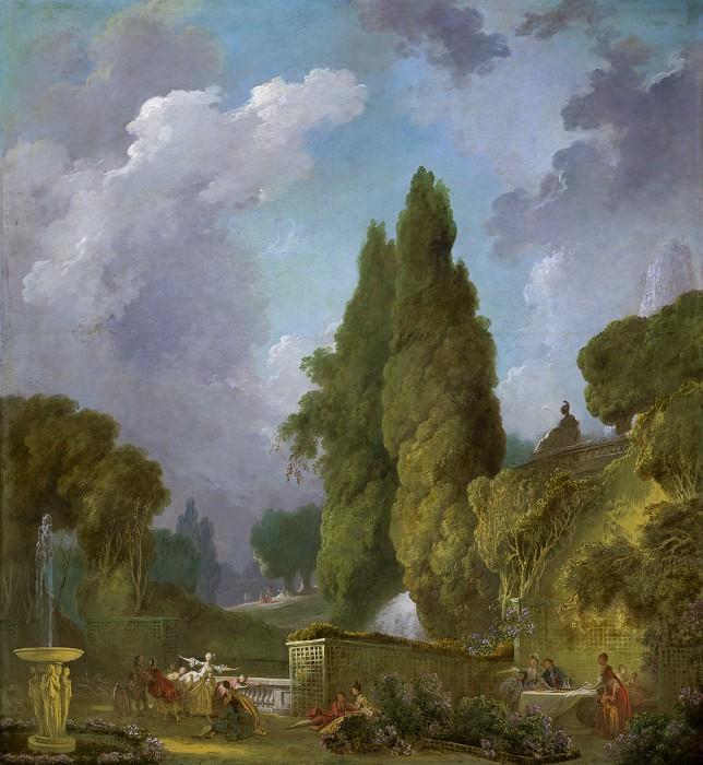 Blindman's Buff. Jean Honore Fragonard