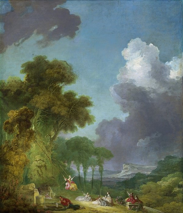 The Swing. Jean Honore Fragonard
