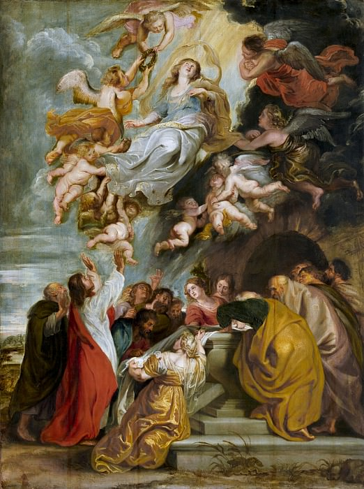 Studio of Sir Peter Paul Rubens - The Assumption of the Virgin. National Gallery of Art (Washington)