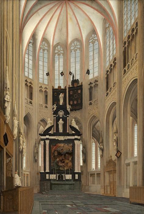 Pieter Jansz Saenredam - Cathedral of Saint John at 's-Hertogenbosch. National Gallery of Art (Washington)