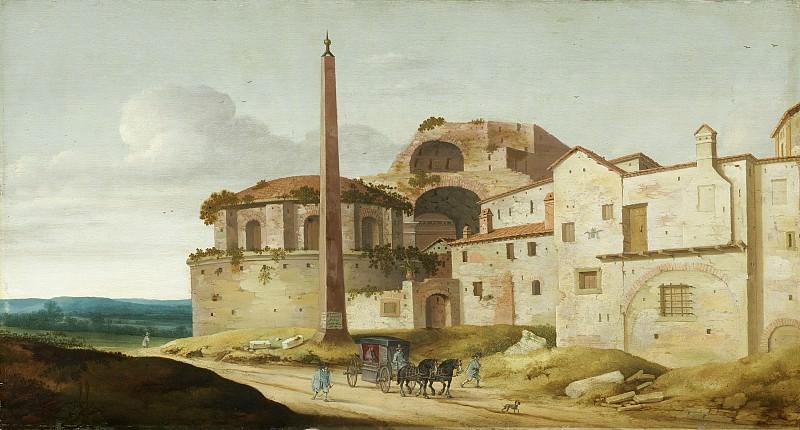 Pieter Jansz Saenredam - Church of Santa Maria della Febbre, Rome. National Gallery of Art (Washington)